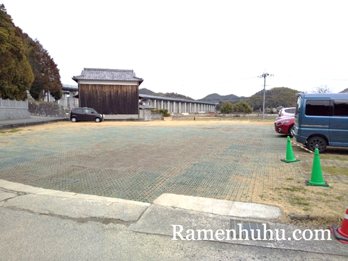 破磐神社 駐車場