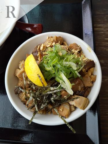 麺屋甚八 塩チャーシュー丼