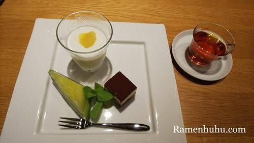 島別荘悠月(日間賀島)デザート