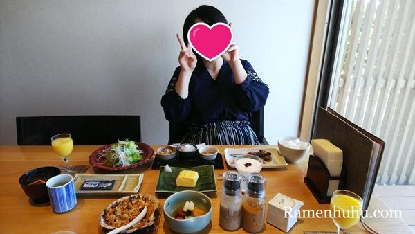 島別荘悠月(日間賀島)朝食