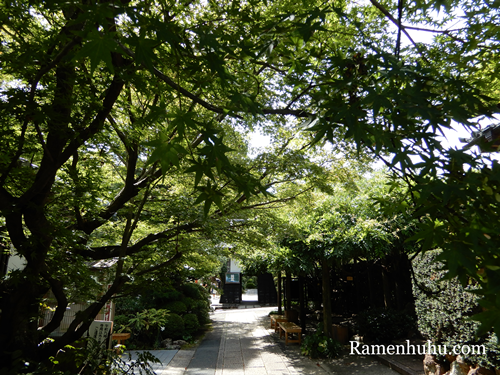 龍潭寺 境内の様子