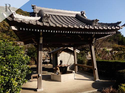 赤岩寺の手水舎