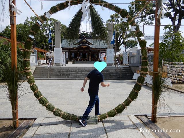 大石神社 大祓式・輪越し祭2