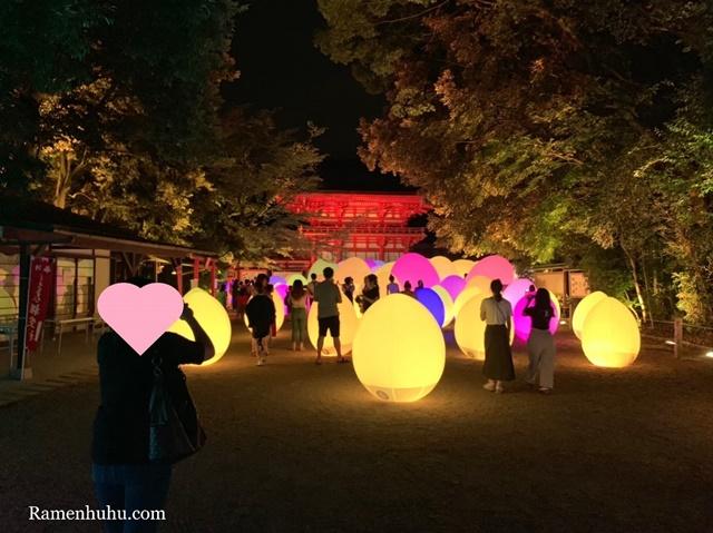 下鴨神社 糺の森の光の祭 Art by teamLab8