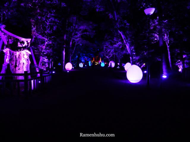 下鴨神社 糺の森の光の祭 Art by teamLab2