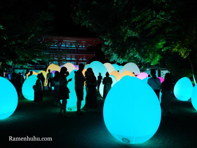 下鴨神社 糺の森の光の祭 Art by teamLab 4