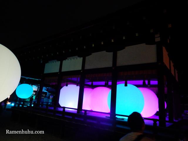 下鴨神社 糺の森の光の祭 Art by teamLab 5