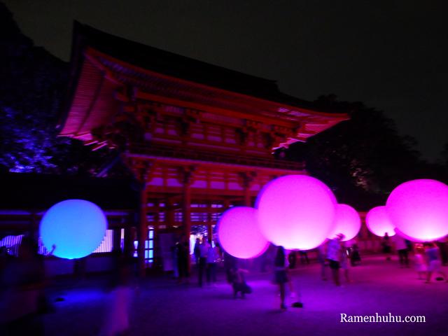 下鴨神社 糺の森の光の祭 Art by teamLab 7