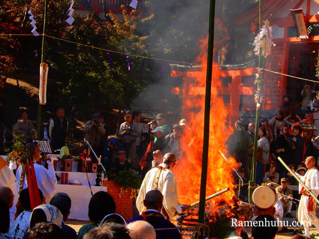 須磨寺 須磨の火祭り