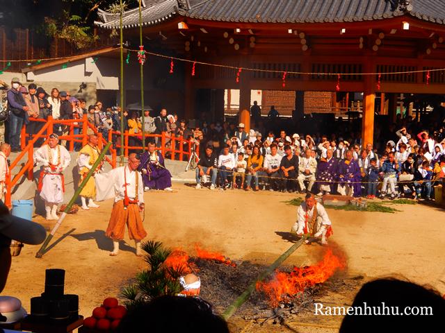 須磨寺 須磨の火祭り3