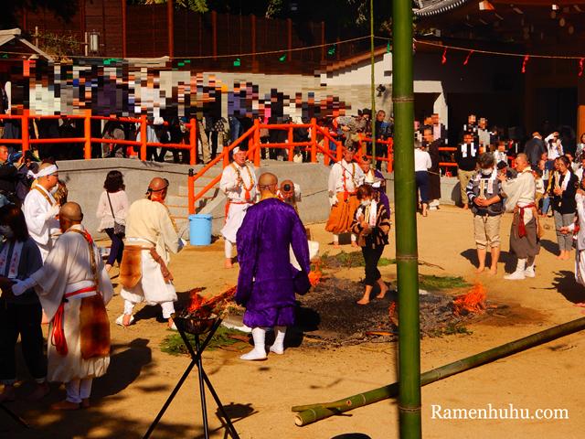須磨寺 須磨の火祭り6