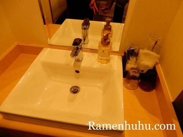 変なホテル京都八条口 洗面所