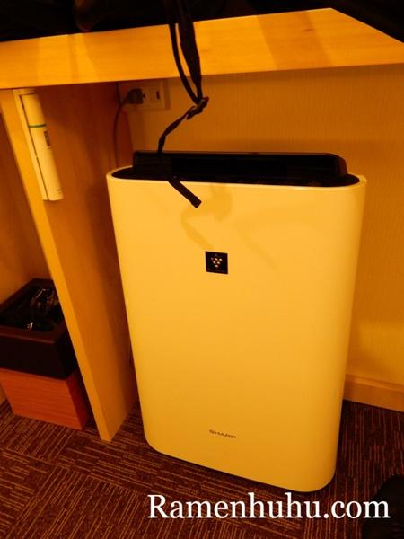 変なホテル京都八条口 空気清浄機