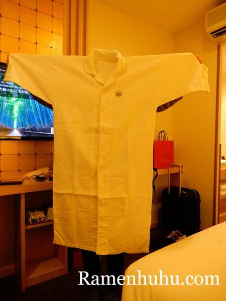 変なホテル京都八条口 パジャマ