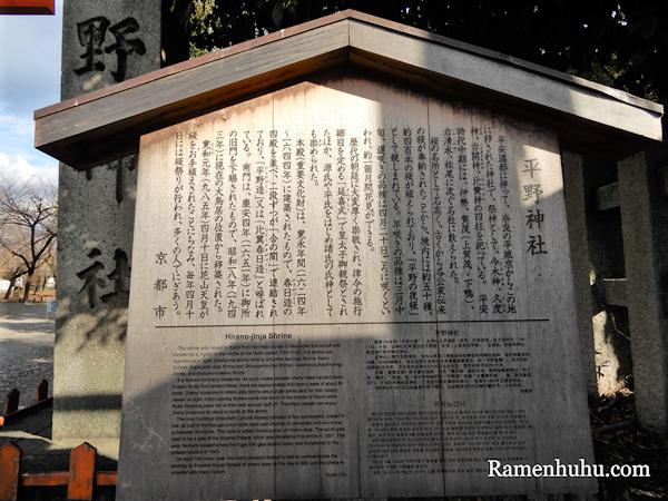 平野神社 由来