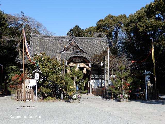 広畑天満宮(兵庫県)の本殿2