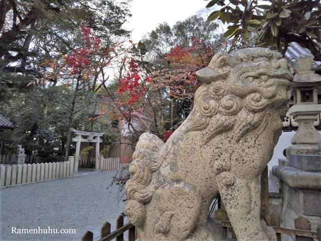 広畑天満宮(兵庫県)の狛犬