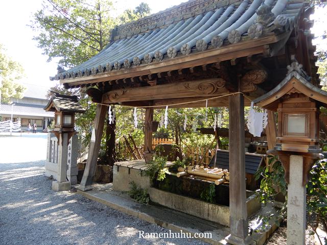 広畑天満宮(兵庫県)の手水舎