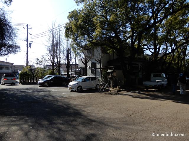 広畑天満宮(兵庫県)の駐車場
