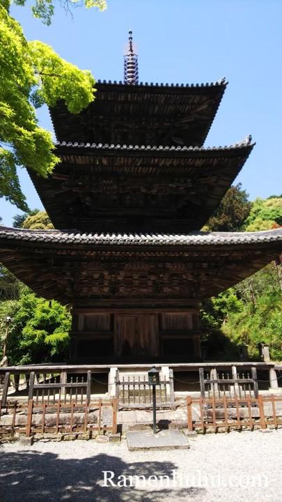 一乗寺 三重塔4