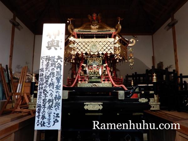 伊弉諾神宮 神輿