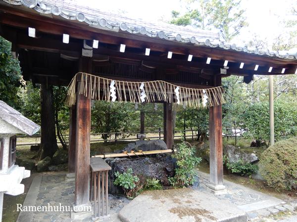 敷地神社(わら天神宮)手水舎