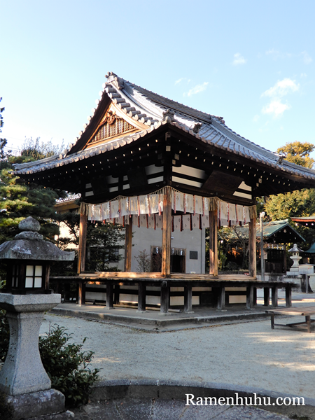 敷地神社(わら天神宮)拝殿