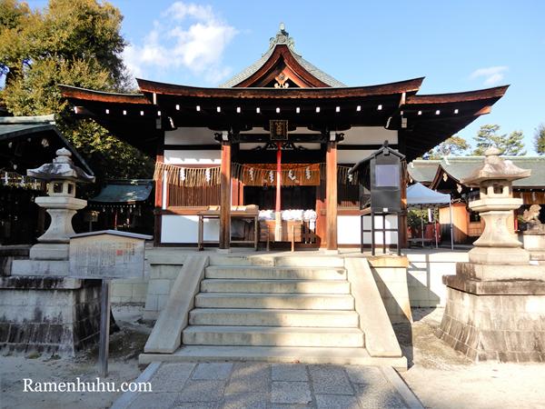 敷地神社(わら天神宮)本殿