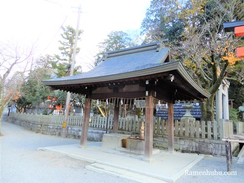 吉田神社(京都)の手水舎