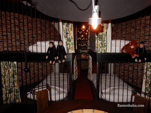 yadoya-lodgeにはベッドが4つあります