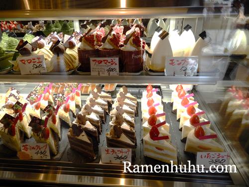 姫路ケーキ屋 フロマージュ カットケーキ