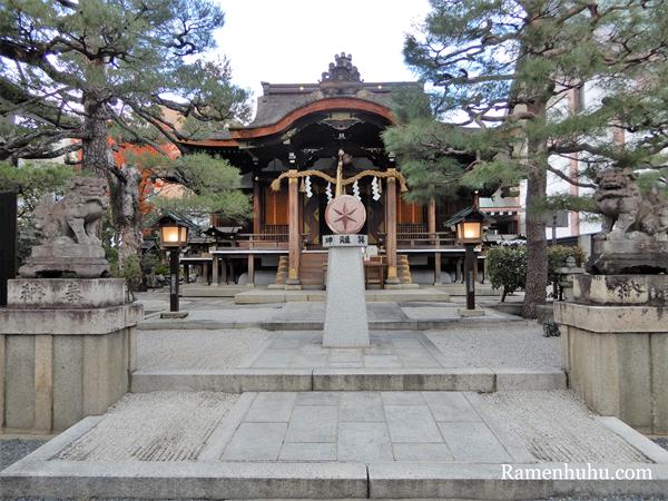 大将軍八神社 本殿
