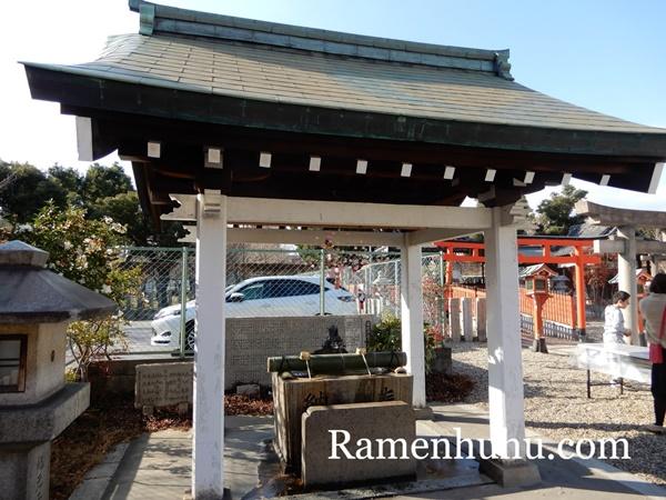 姫嶋神社(やり直し神社)手水舎