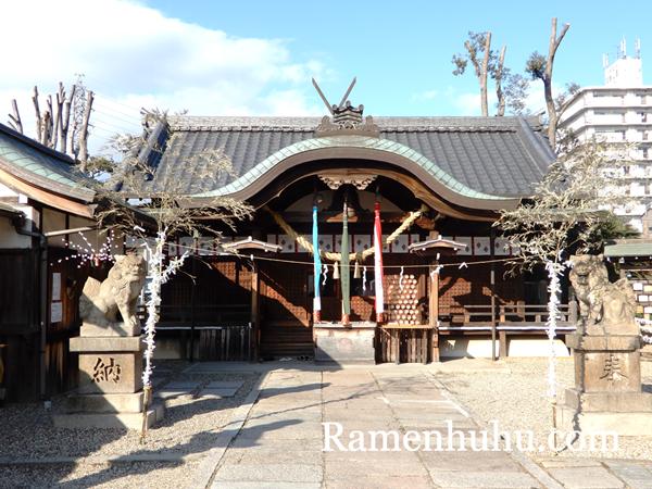 姫嶋神社(やり直し神社)本殿