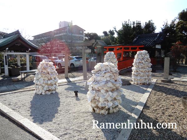 姫嶋神社(やり直し神社)貝殻絵馬