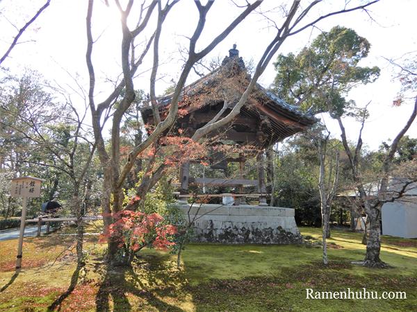 金閣寺の鐘楼