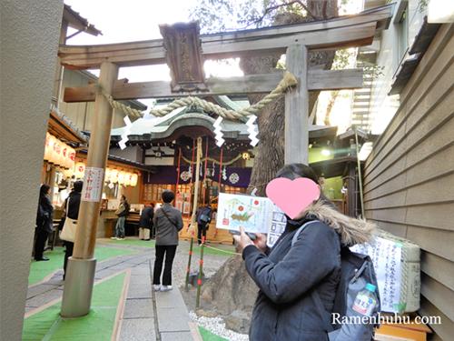 少彦名神社で撮影