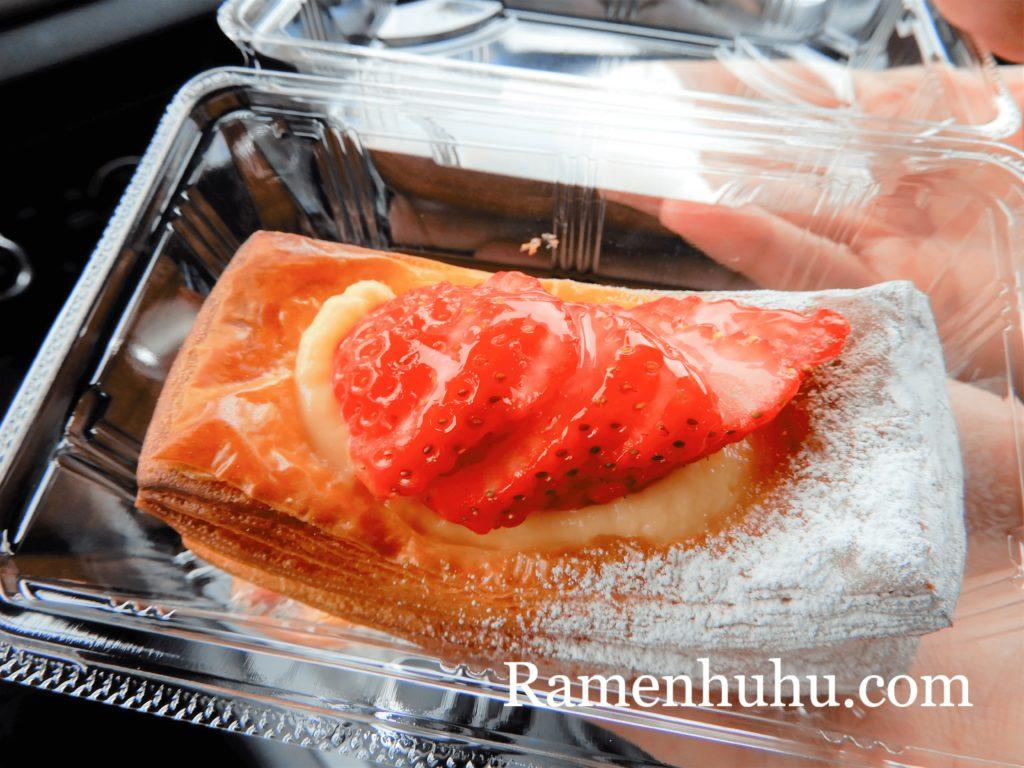 ブーランジェリーアッシュの苺デニッシュ
