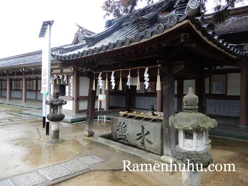日岡神社 手水舎