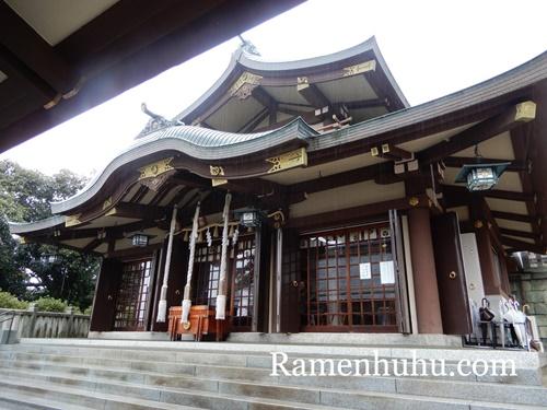 日岡神社 本殿2