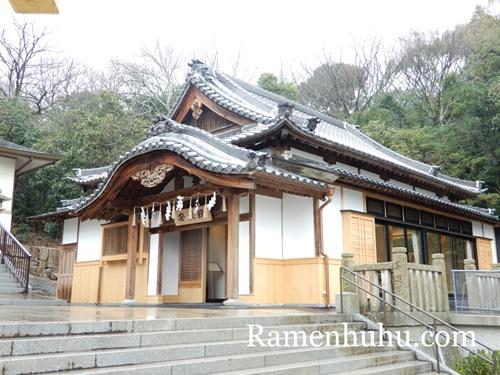 日岡神社 安授殿