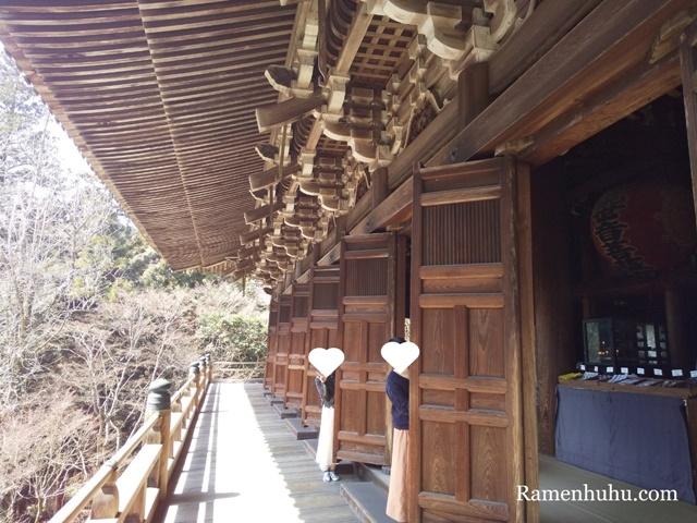 書写山 円教寺の摩尼殿舞台