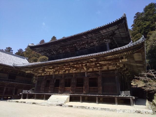 書写山 円教寺の大講堂