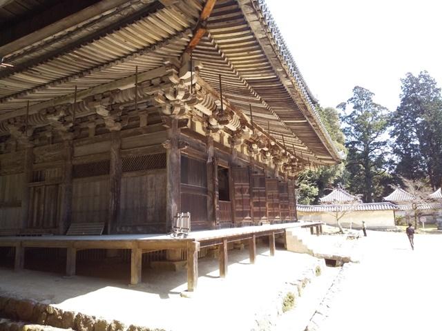書写山 円教寺の大講堂2