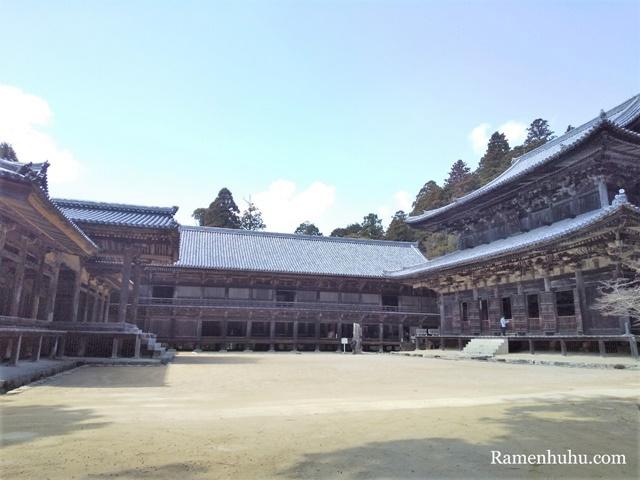書写山 円教寺 三つの堂