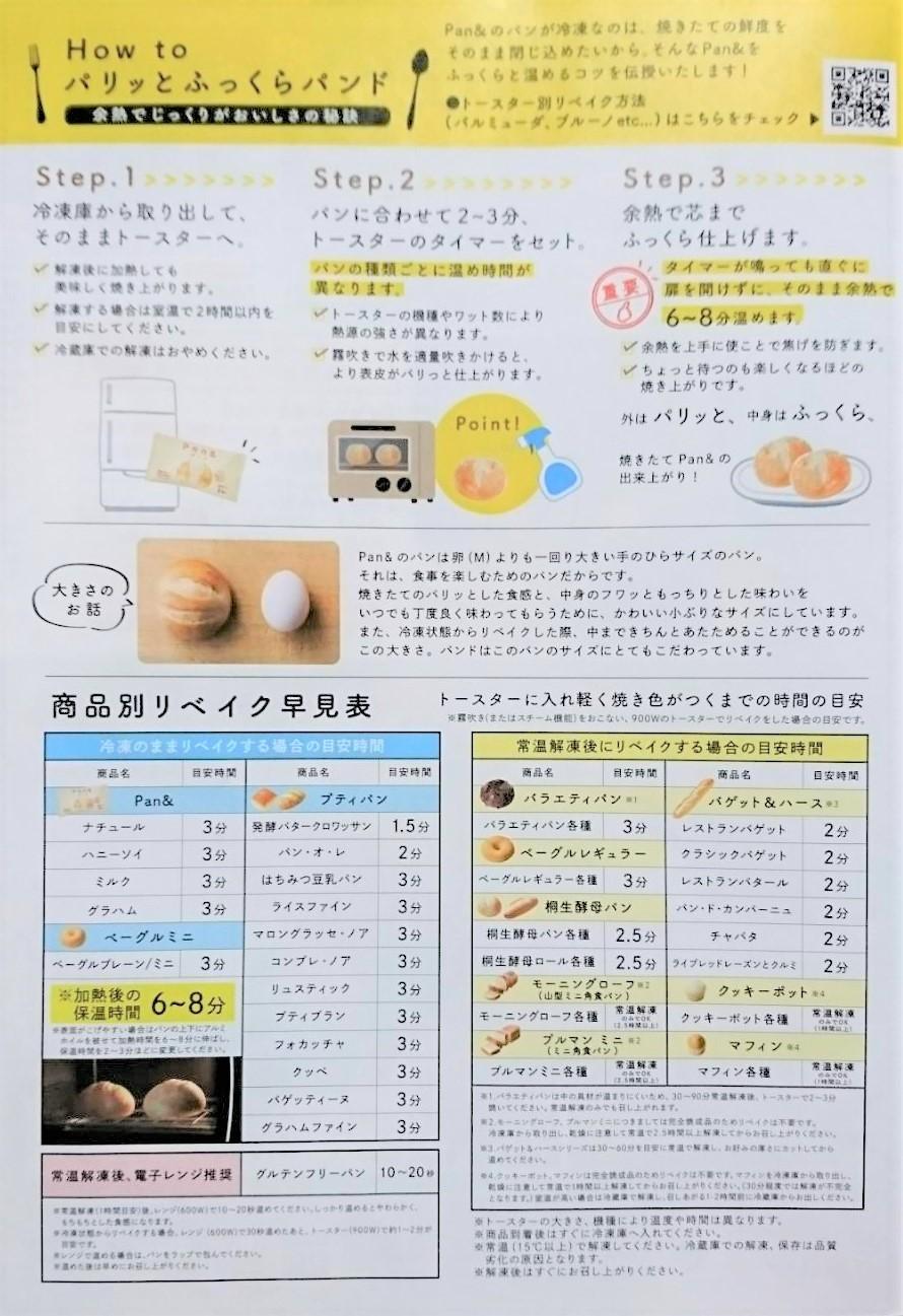 Pan& パンの焼き方