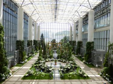 兵庫県立淡路夢舞台温室「奇跡の星の植物館」へ  ローズガーデンの季節に行ってきました!