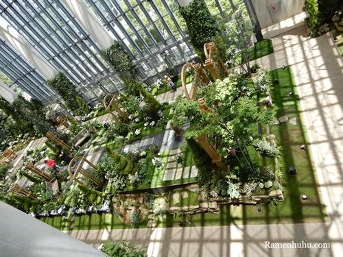 奇跡の星の植物館 フラワーショースペース