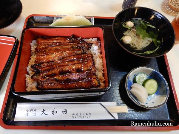 大和田(掛川)の鰻