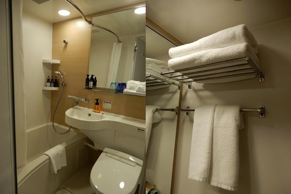 センチュリオンホテルCEN大阪難波のバスルーム